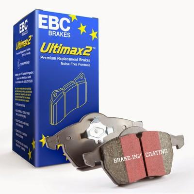 105 CV Pastillas de Freno EBC Ultimax FRONTAL PARA SEAT LEON Mk2 /> 13 1.9 TD 2005 1P